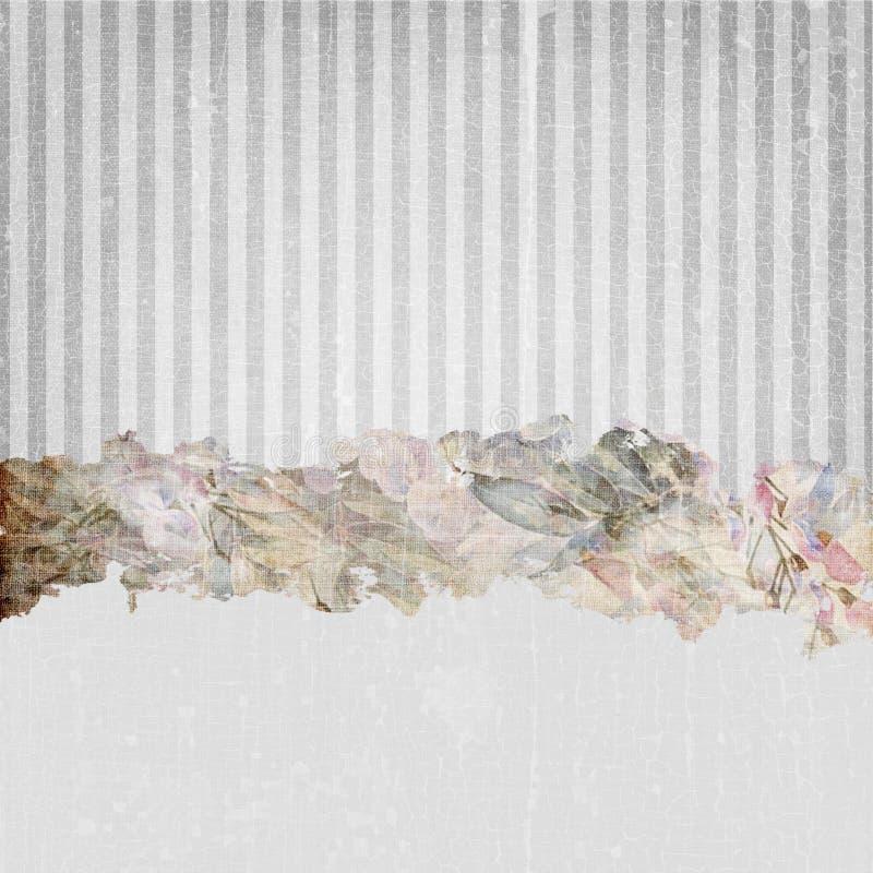 Vintage Grunge Stripes Background Soft Grey stock photos