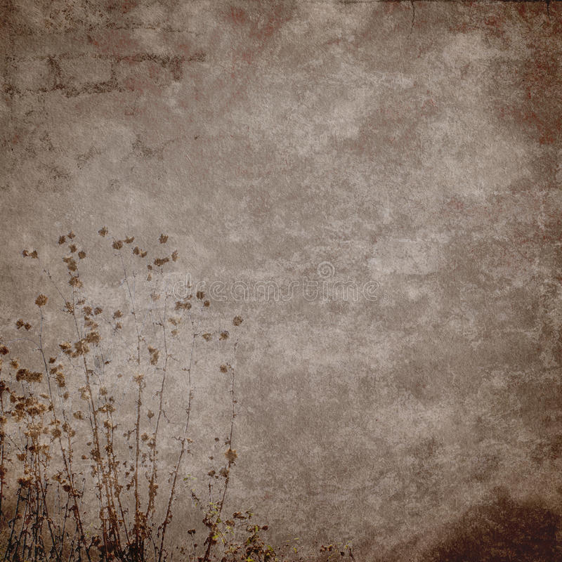 Vintage grunge texture and background. In scrap-booking style royalty free illustration