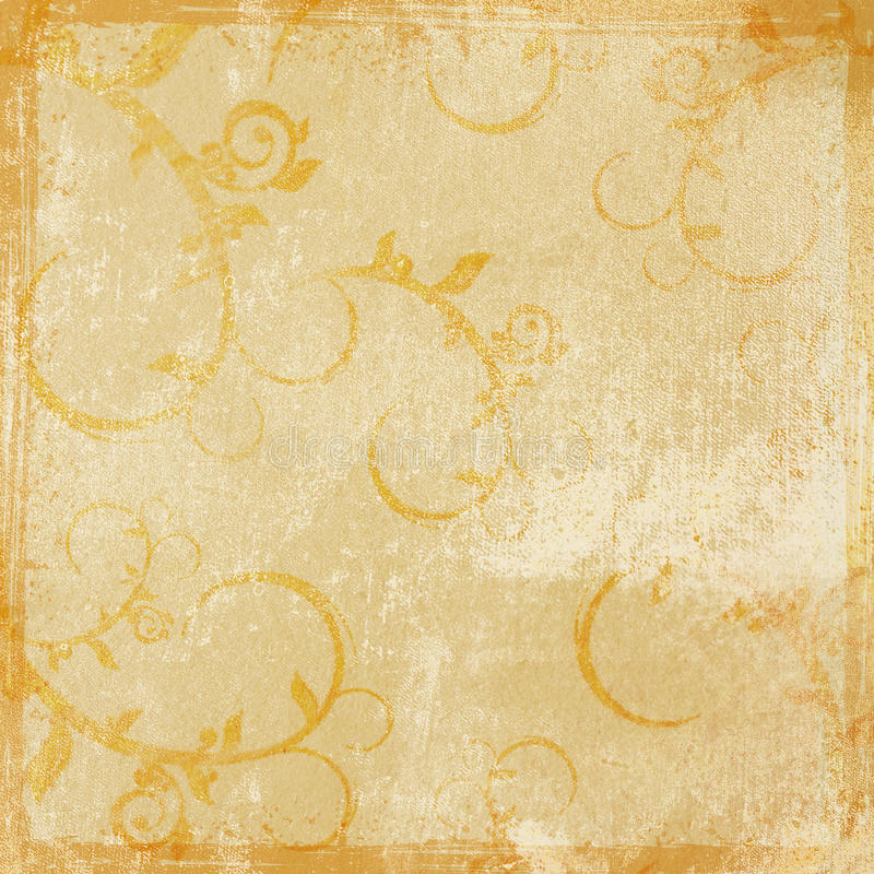 Vintage grunge textures and backgrounds stock illustration