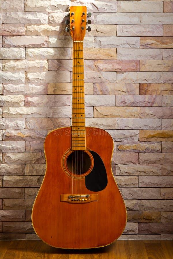 Vintage Guitar Stock Images