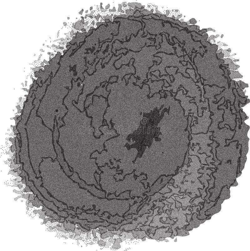 Vintage halftone background. Grunge dootted distressed overlay. Vintage halftone stain background. Grunge dootted distressed overlay vector illustration