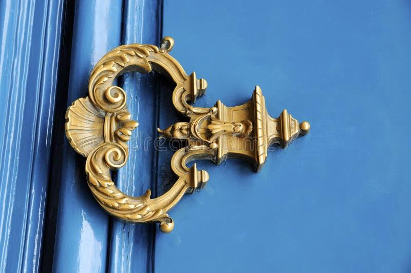 Vintage handle door royalty free stock images