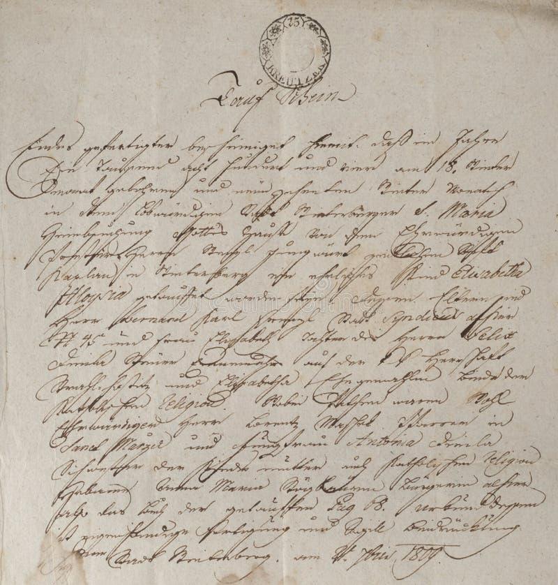 Download Vintage handwriting stock photo. Image of alphabet, communication - 18344884