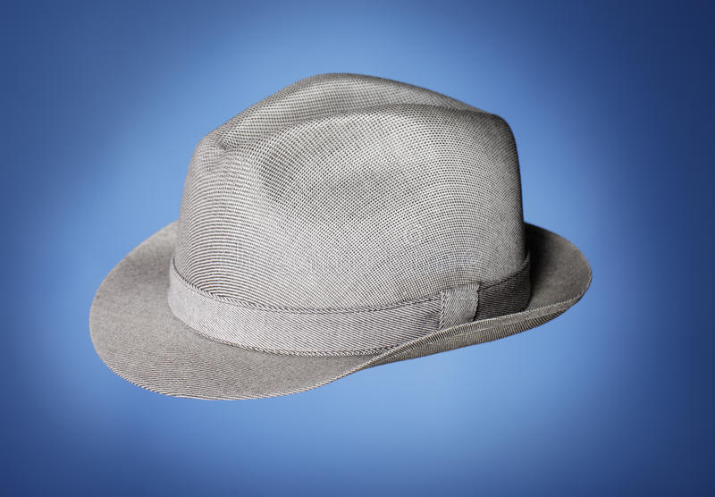 Download Vintage Hat stock photo. Image of brimmed, grey, clothes - 21041958