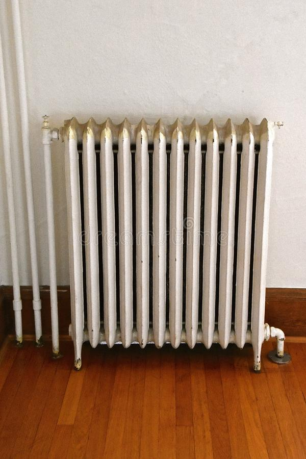 Vintage heat register in an old home royalty free stock photography