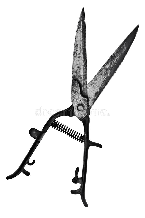 Download Vintage Hedge Shears Royalty Free Stock Images - Image: 7520699