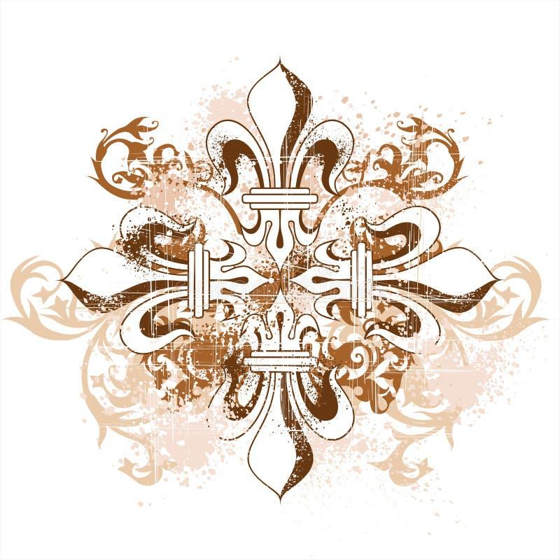 Free Vintage Heraldic Cross Stock Image - 2703941