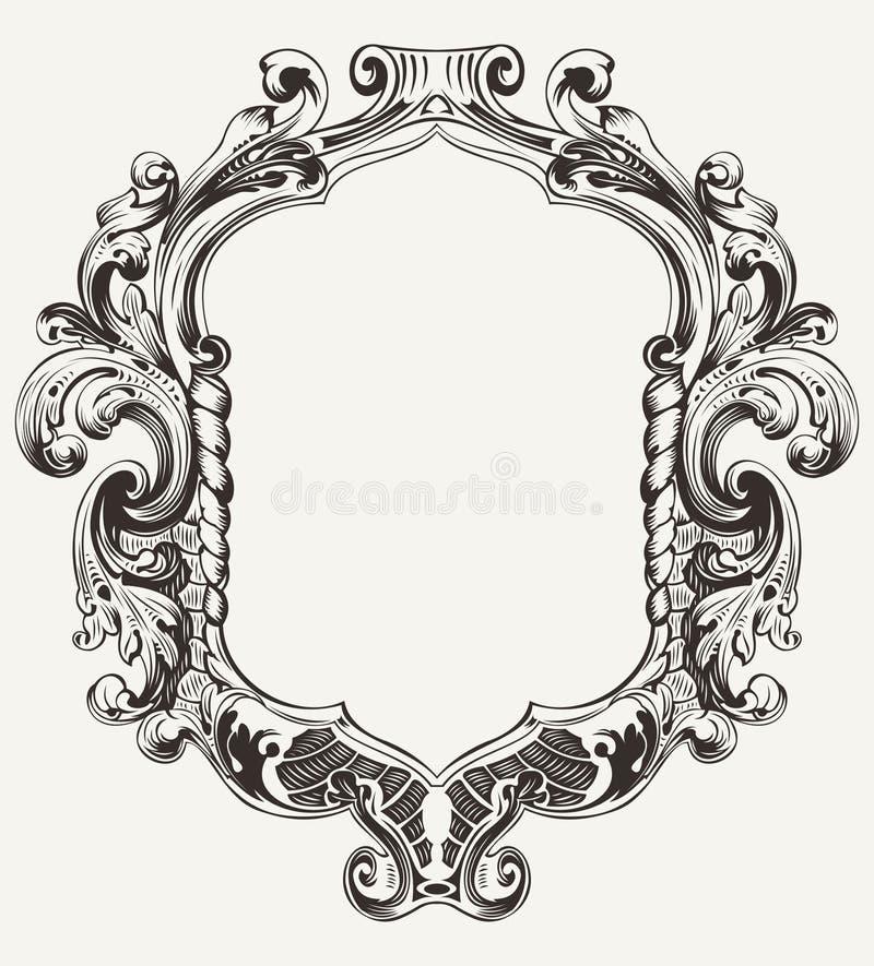 Download Vintage High Ornate Original  Frame Stock Vector - Illustration: 28890030