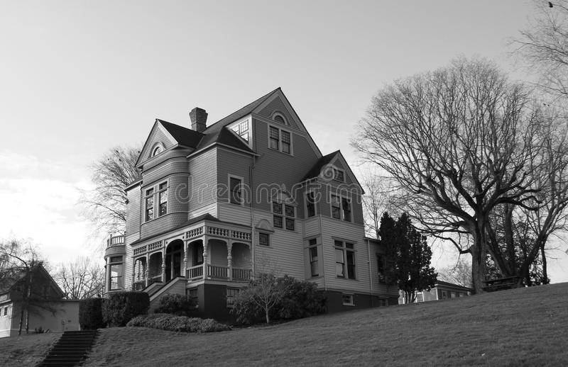 Vintage home built in the 1880s. royalty free stock photography