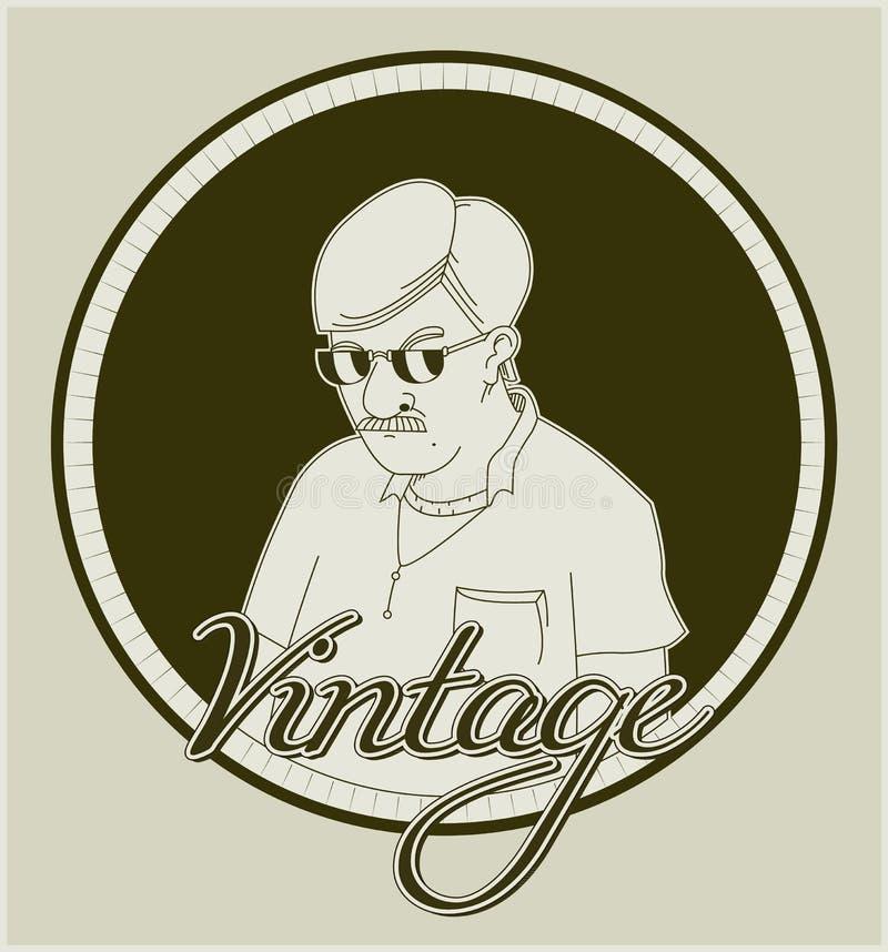 Vintage Icon stock photography