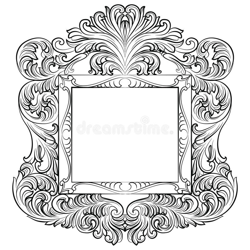 Perfect Baroque Wall Frame Model - Ideas de Marcos - lamegapromo.info