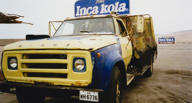 Download Vintage Inca Kola Delivery Truck Peru Editorial Photography - Image of dodge, america: 13260532