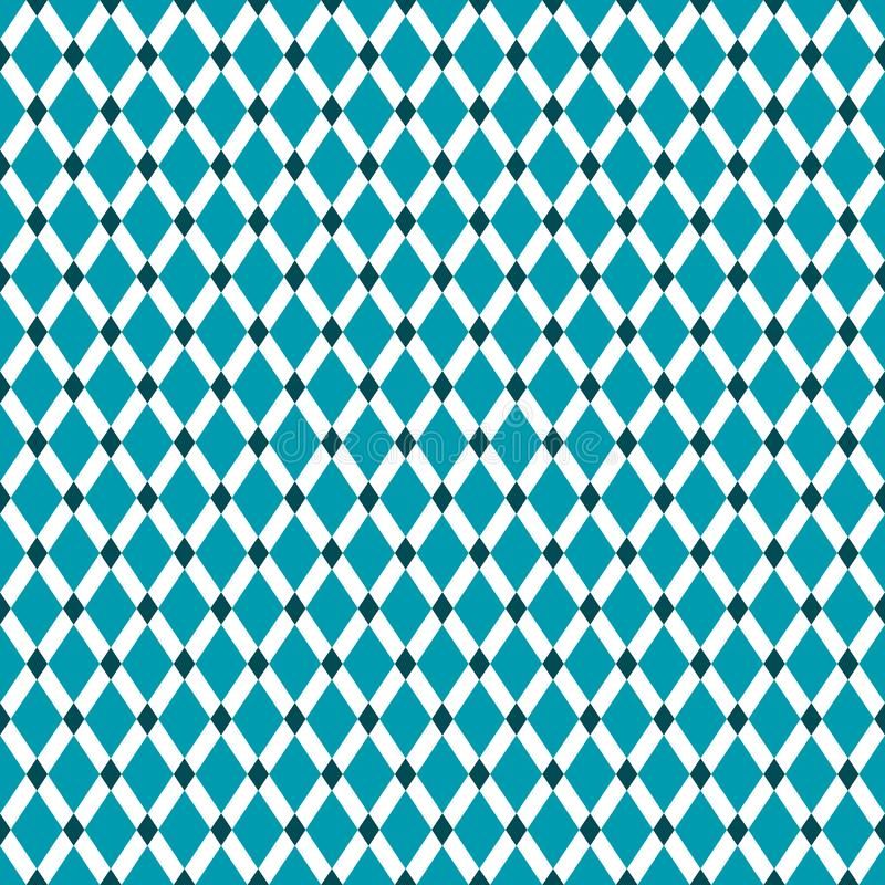 Vintage inconsútil Diamond Pattern Background libre illustration
