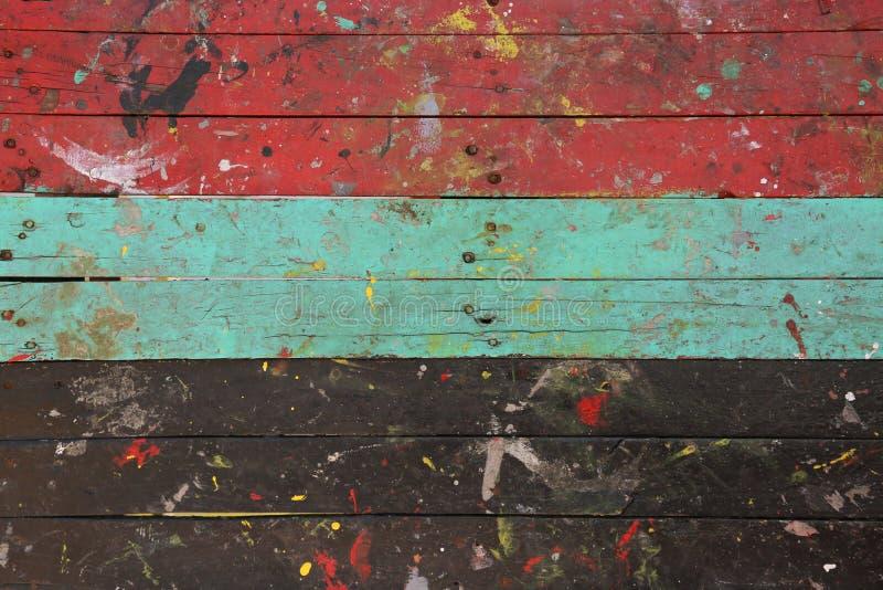 Download Vintage Interior Con Colorido En Fondo Retro De Madera, De Madera Y área Vacía Para El Texto, Color En De Madera Con Retro Imagen de archivo - Imagen de suelo, cuadro: 64200471