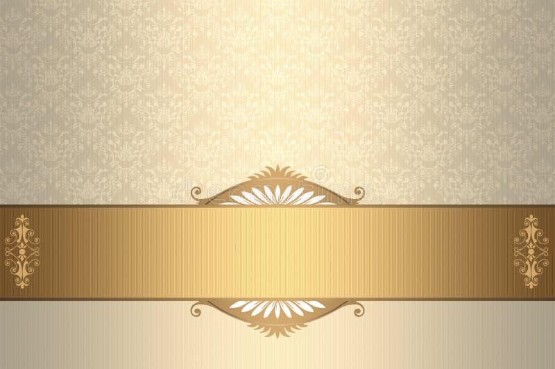 vintage invitation card design stock illustration illustration of decor gift 62237858 vintage invitation card design stock