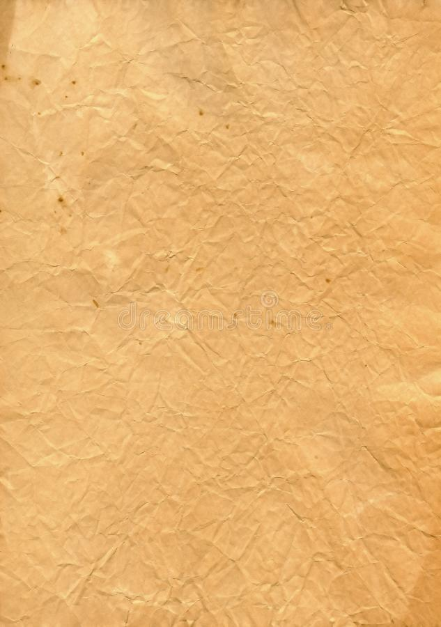 Vintage isolated old paper stock photo