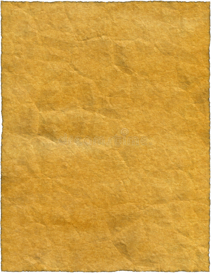Vintage Isolated Old Retro Ripped Paper Stock Photos