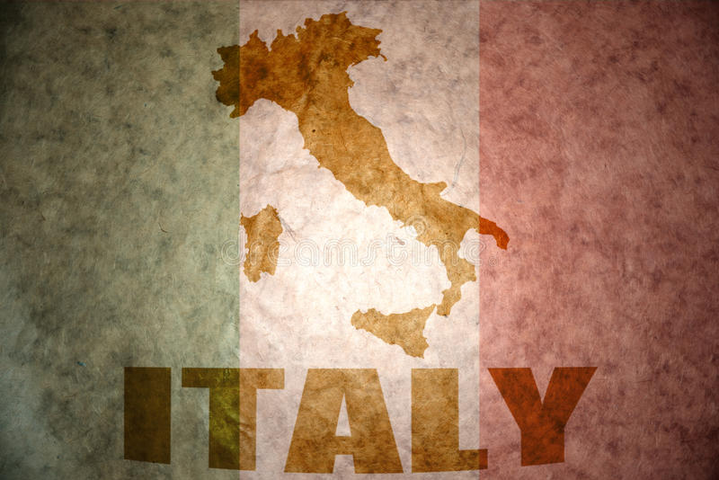 vintage italy flag stock image  image of antique  city