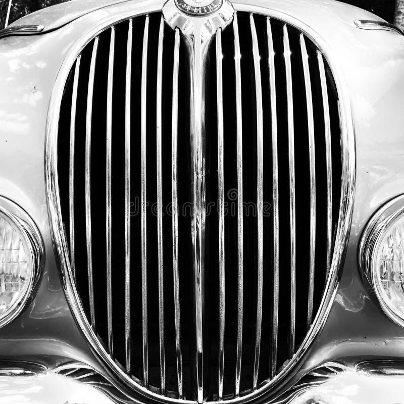 Vintage Jaguar fotografie stock