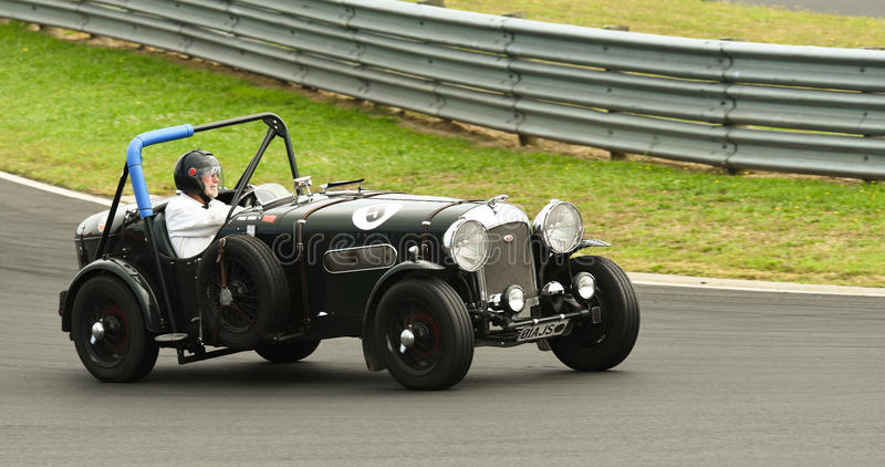 Download Vintage Jaguar Special SS Race Car Editorial Stock Photo