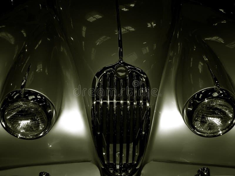 Vintage Jaguar XK 140 - 1957 royalty free stock photos