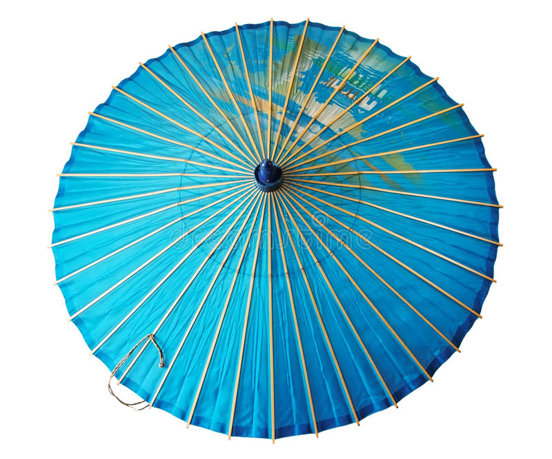 Vintage japanese parasol stock images