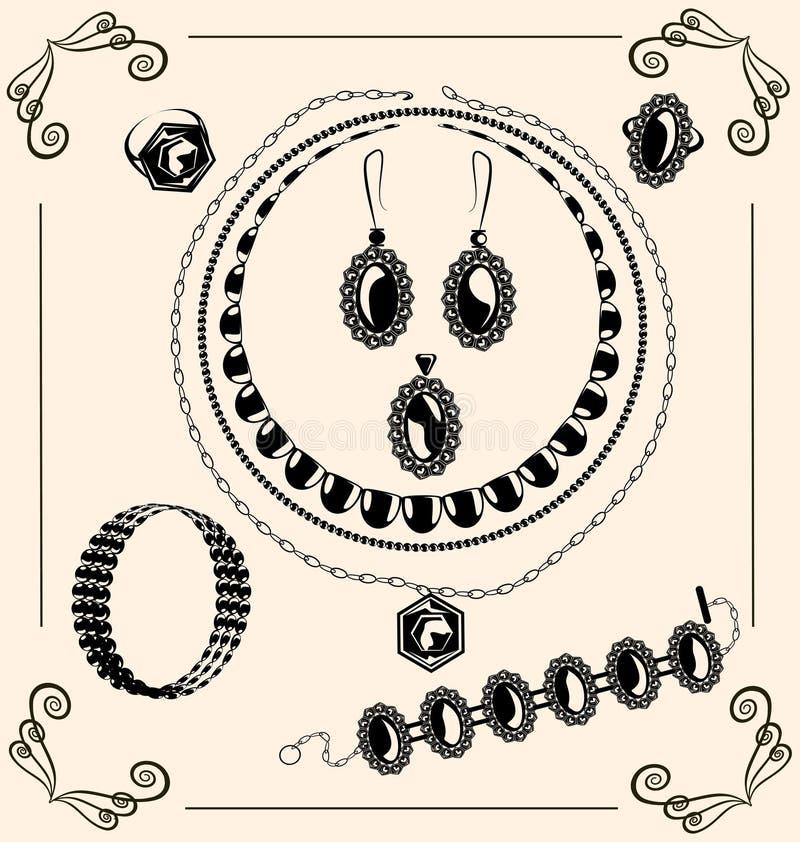 Download Vintage jewel stock vector. Image of frame, creative - 24819077