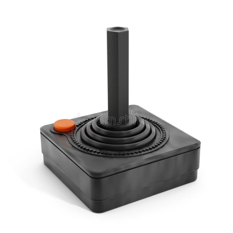 Vintage joystick stock image