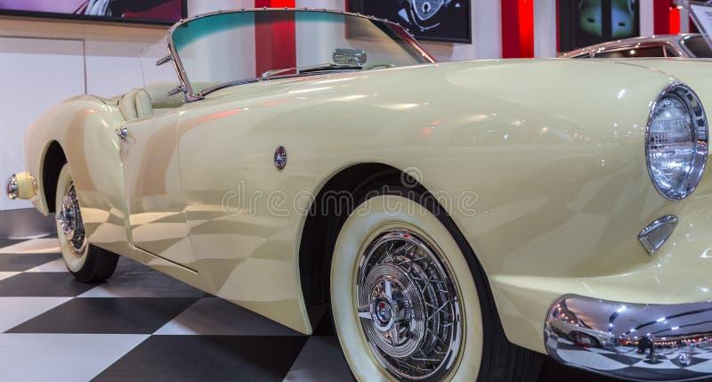 Vintage Kaiser classique Darrin image libre de droits