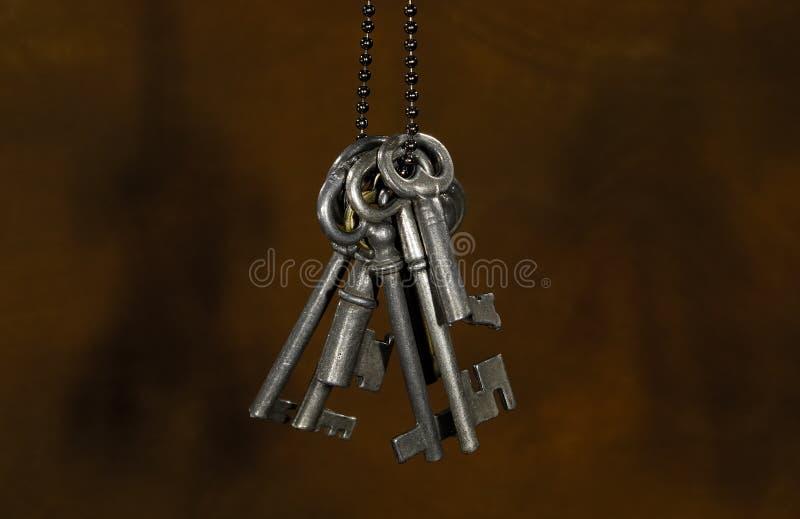 Vintage Keys. Photo of Vintage Skeleton Keys stock photos