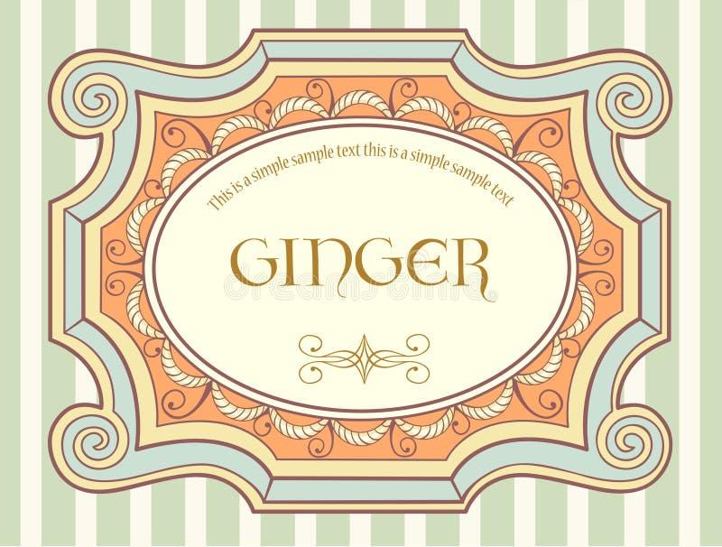 Download Vintage label 3 stock vector. Image of sticker, ornament - 16133176