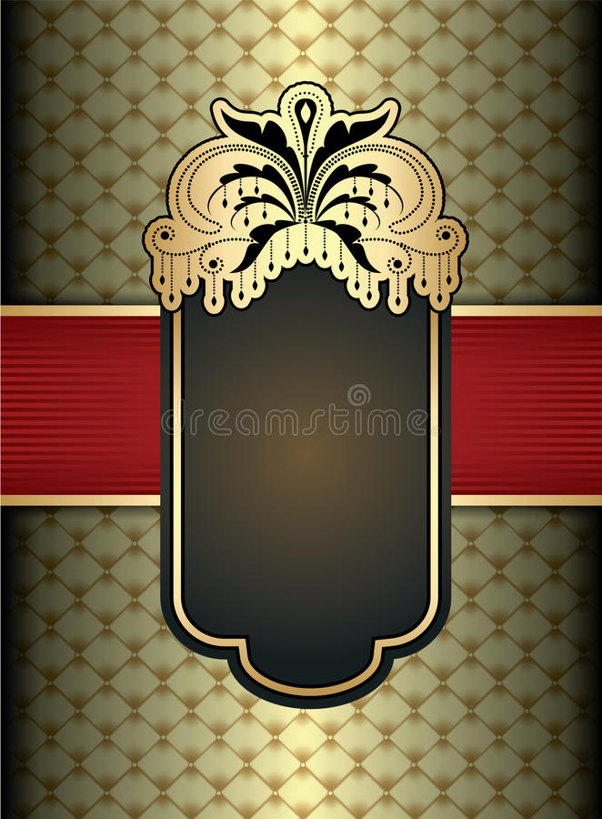 Download Vintage label design stock vector. Image of cover, drink - 18505848