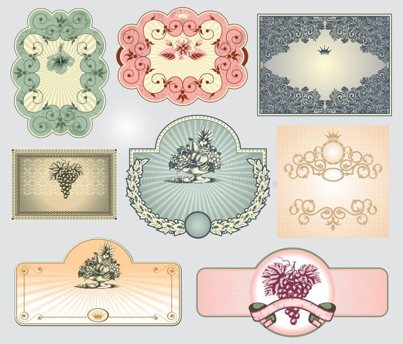 Download Vintage Label Set Royalty Free Stock Images - Image: 15257379