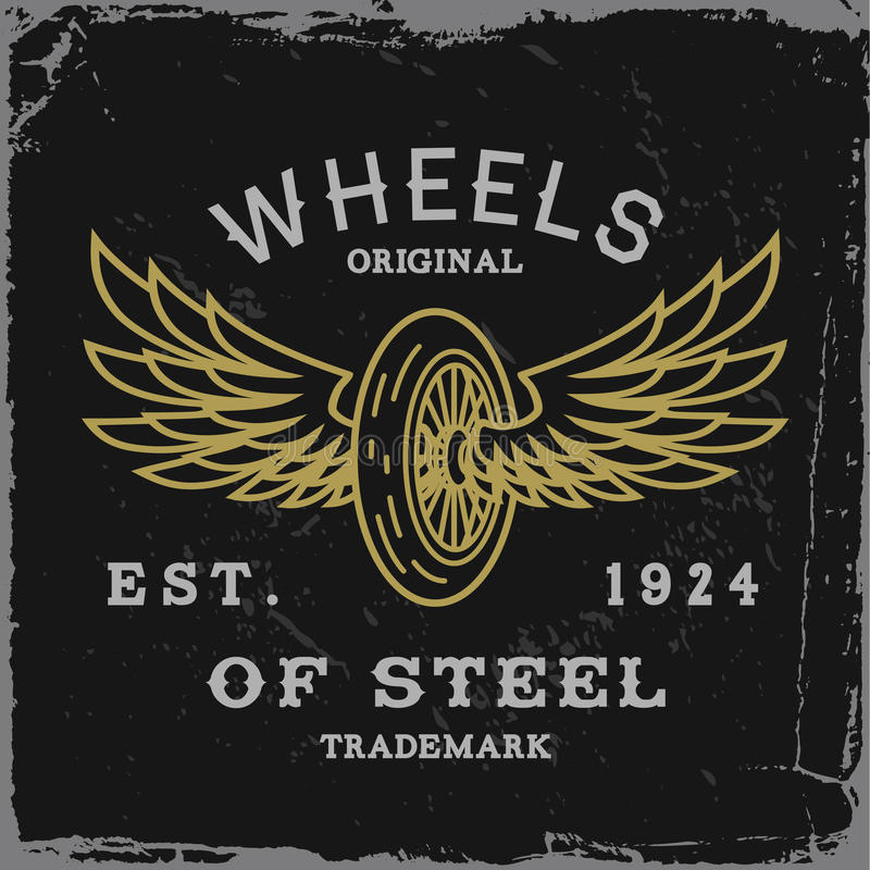Vintage label royalty free stock image
