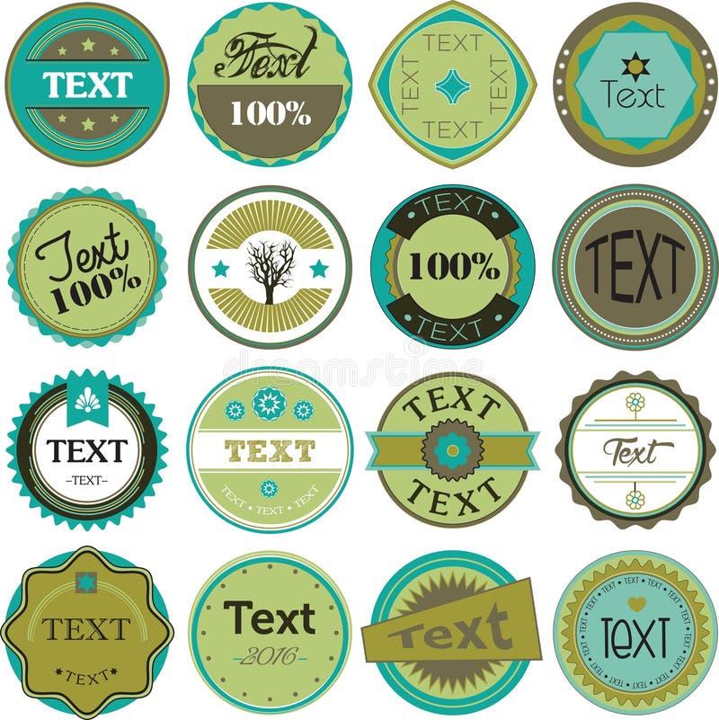 Vintage Labels vector illustration