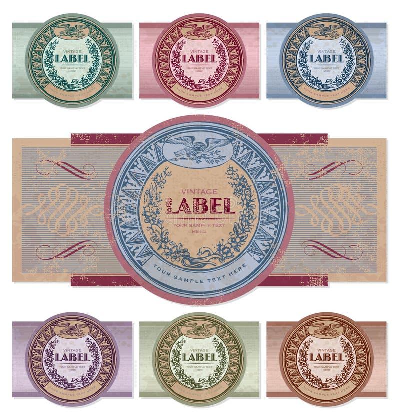 Download Vintage Labels Set (vector) Stock Photography - Image: 20593382