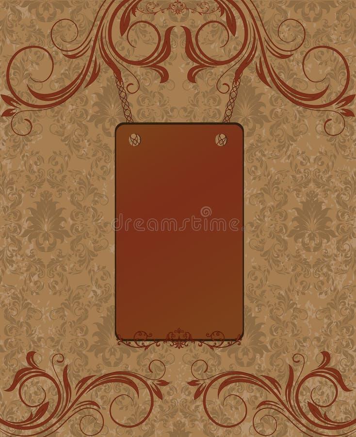 Download Vintage Lace & Damask Invitation Stock Vector - Image: 33034780