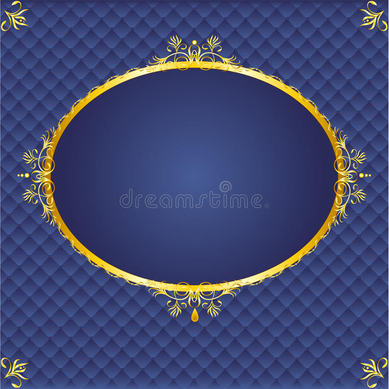 Vintage Lace Frame Royalty Free Stock Photography