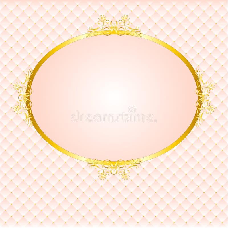 Vintage Lace Frame royalty free illustration