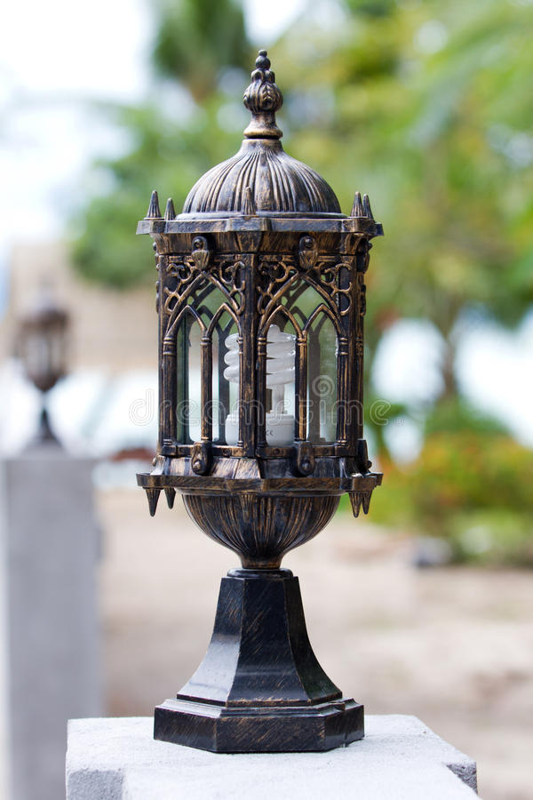 Download Vintage Lamp stock image. Image of city, parisian, streetlamp - 21277275