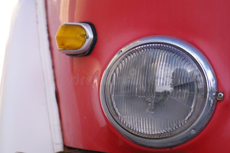Vintage lamp and flashing light