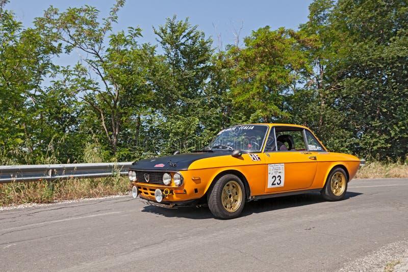 Vintage Lancia Fulvia Montecarlo (1973) foto de stock