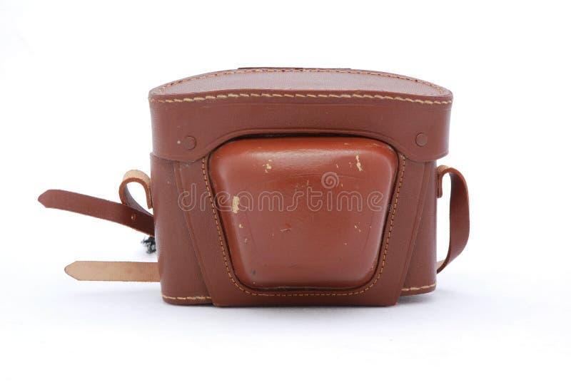 Download Vintage Leather Camera Case Stock Image - Image: 4618701