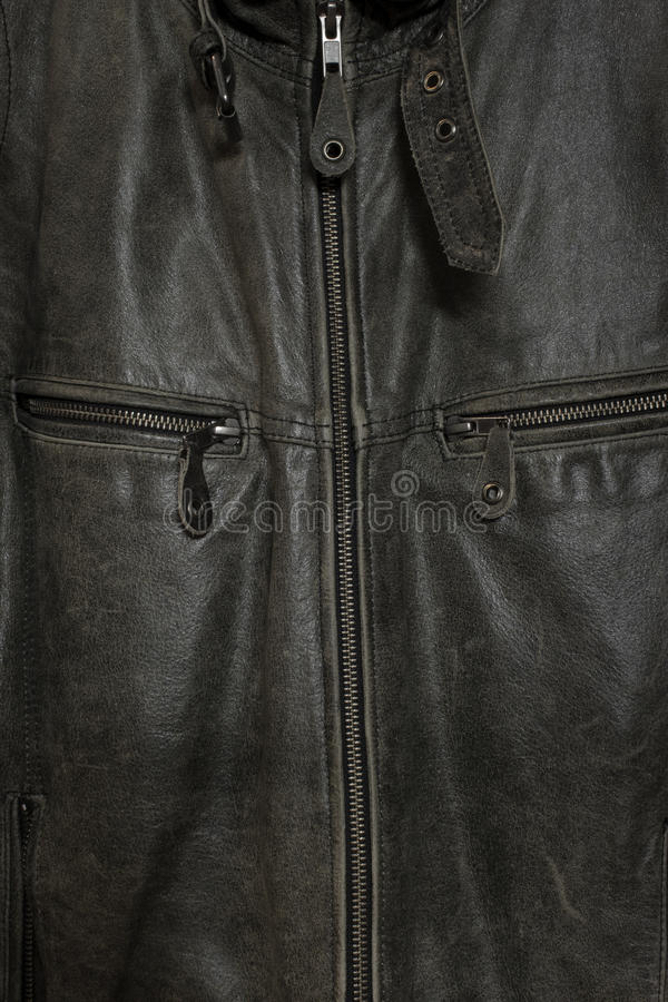 Download Vintage leather jacket stock image. Image of retro, coat - 21911901