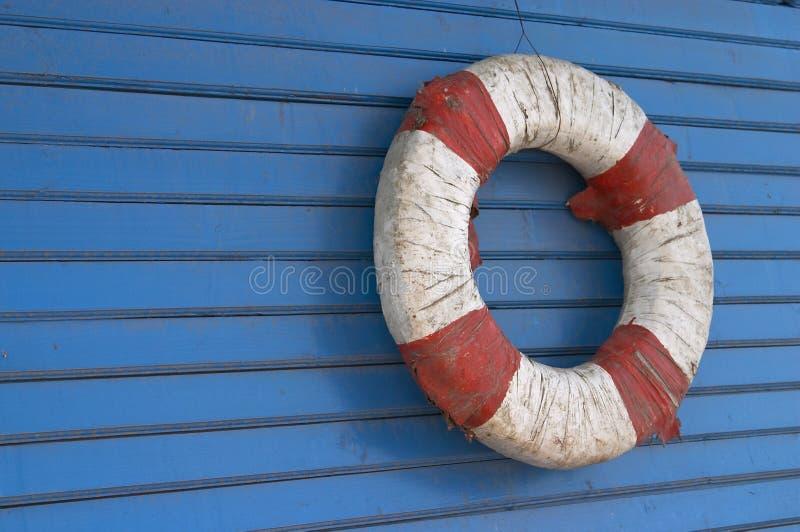 Vintage Life-buoy royalty free stock image