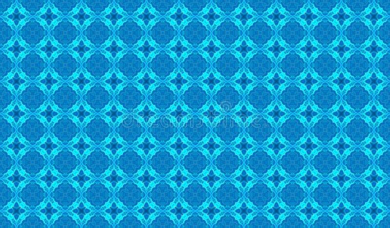 Vintage light blue pattern for background.  stock photos
