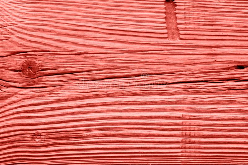 Vintage living coral wood texture. Abstract background stock images