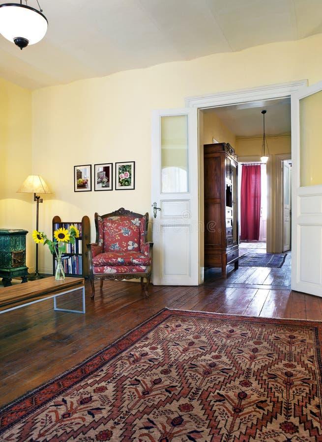 Free Vintage Living Room Stock Photo - 27068280