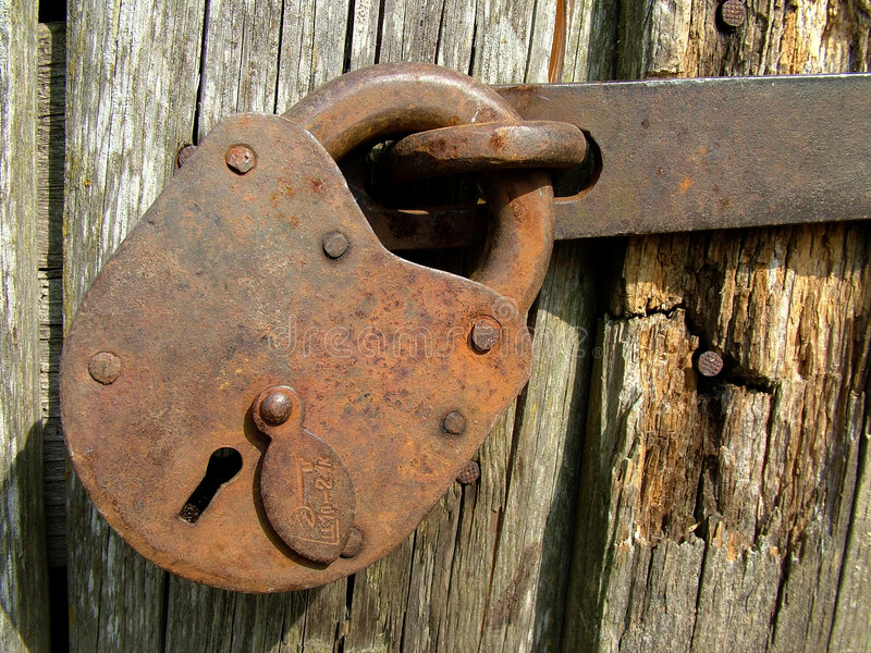 Vintage lock royalty free stock images
