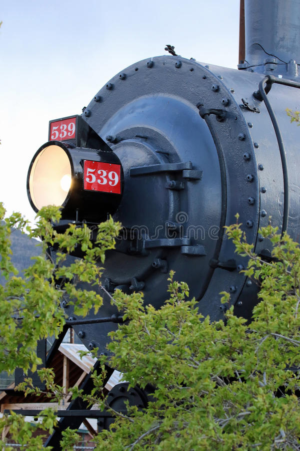 Free Vintage Locomotive Royalty Free Stock Photography - 54021637